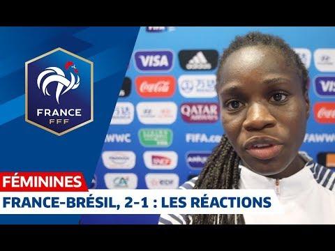 CDM France 2019- VIDÉO : Les premières réactions des Bleues qualifiées pour les quarts !