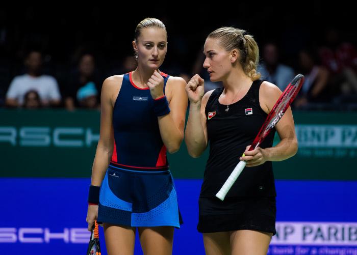 Kristina Mladenovic, devient numéro 1 mondiale en double !