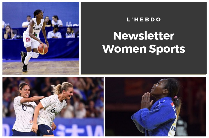 La newsletter WOMEN SPORTS du mardi 25 juin 2019