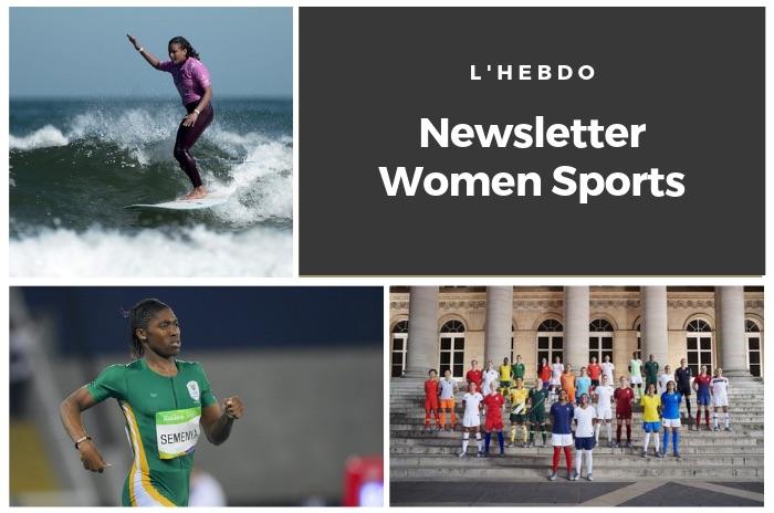 La newsletter WOMEN SPORTS du mardi 4 juin 2019
