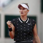 La Tchèque Marketa Vondrousova s'est qualifiée pour la finale de Roland-Garros ce vendredi après sa victoire en deux sets sur la Britannique Johanna Konta.