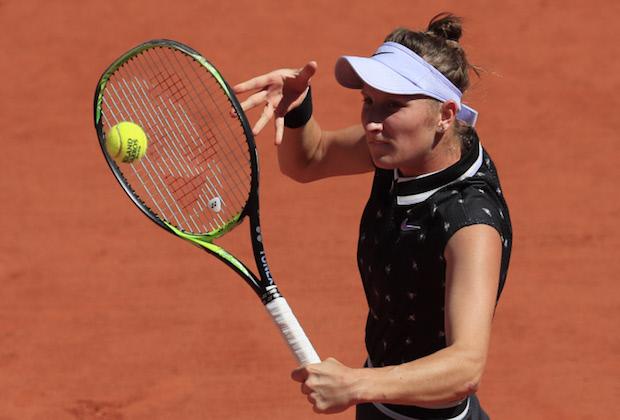 Roland-Garros : Vondrousova rejoint Konta en demi-finale
