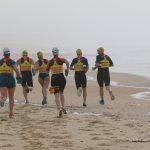 Emmanuelle Bescheron et Elsa Dabet, organisent le tout premier swimrun des Landes dimanche 16 juin, entre les communes d'Hossegor, Seignosse et Capbreton.