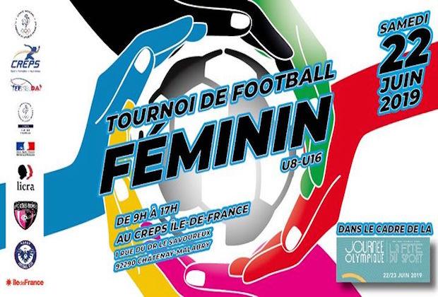 Le CREPS d'Ile-de-France organise un tournoi de football  féminin pour favoriser l'émancipation des jeunes filles