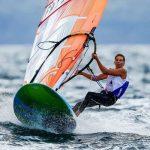 Charline Picon, sacrée championne olympique de planche à voile à Rio en 2016, est la première athlète tricolore officiellement sélectionnée pour Tokyo-2020.