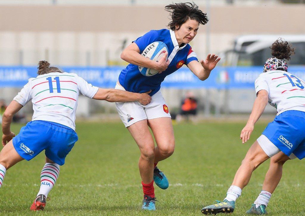 Rugby féminin : les Françaises s'offrent une victoire face à la Nouvelle-Zélande !