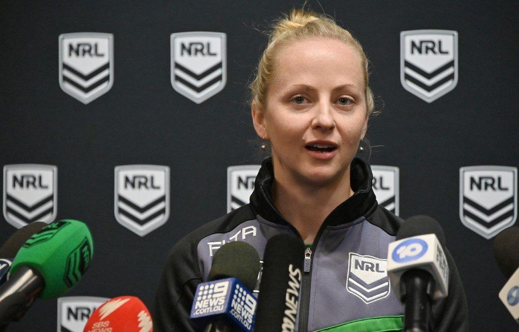 C'est une première : une femme va arbitrer un match de rugby à XIII en Australie !