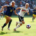 CDM France 2019 - La Suède, surprenante, s'est qualifiée pour les demi-finales de la Coupe du monde féminine de la FIFA 2019 en battant l'Allemagne (2-1).