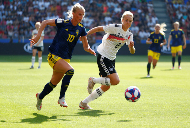 CDM France 2019 : la Suède sort l'Allemagne