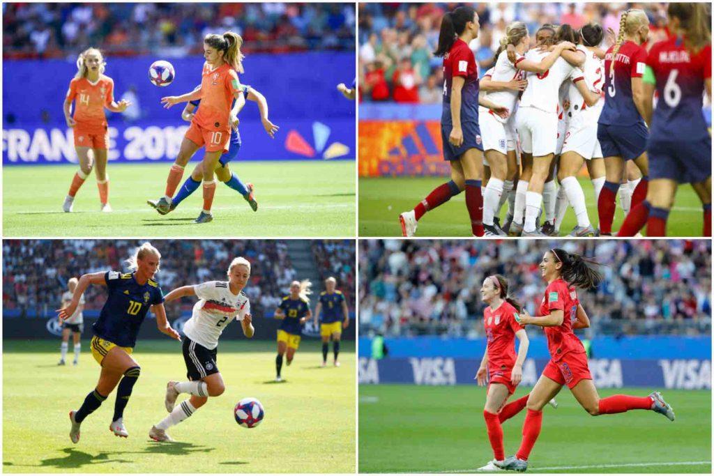 CDM France 2019 : Angleterre/USA et Suède/Pays-Bas en demi-finales