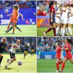 CDM France 2019 - L'Angleterre, les États-Unis, la Suède et les Pays-Bas sont les quatre dernières nations encore en lice dans la Coupe du monde 2019.