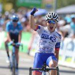 La jeune Jade Wiel (FDJ-Nouvelle Aquitaine-Futuroscope) a été sacrée championne de France 2019 de cyclisme sur route ce week-end, à La Haye-Fouassière.