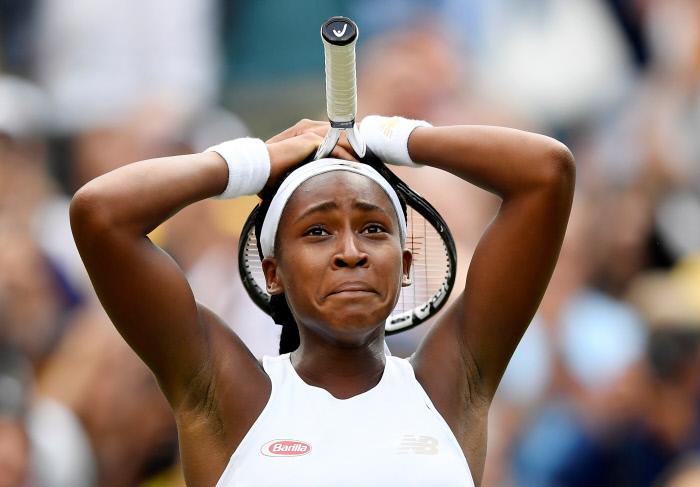 Wimbledon : rien n'arrête Cori Gauff qui file au troisième tour sans forcer !