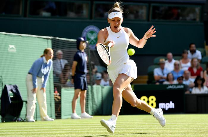 Wimbledon : Simona Halep continue sa route et file en demi-finales !