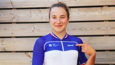 La Course by le Tour : Jade Wiel veut montrer son «joli maillot»