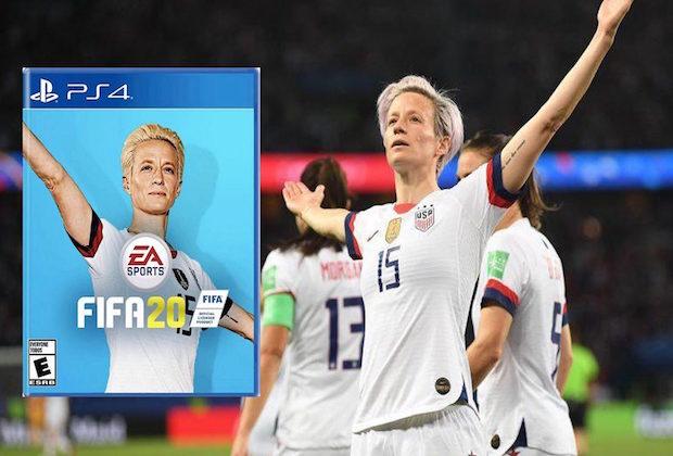 Megan Rapinoe sur la jaquette de FIFA 20 à la place de Neymar ?