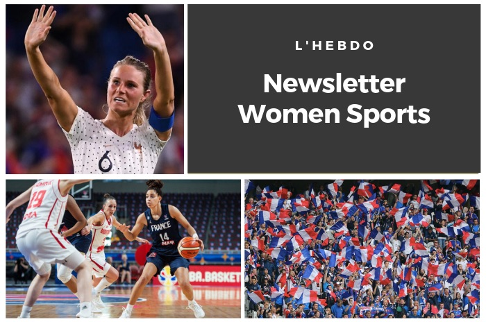 La newsletter WOMEN SPORTS du mardi 2 juillet 2019