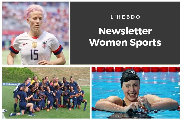 La newsletter WOMEN SPORTS du mardi 30 juillet 2019