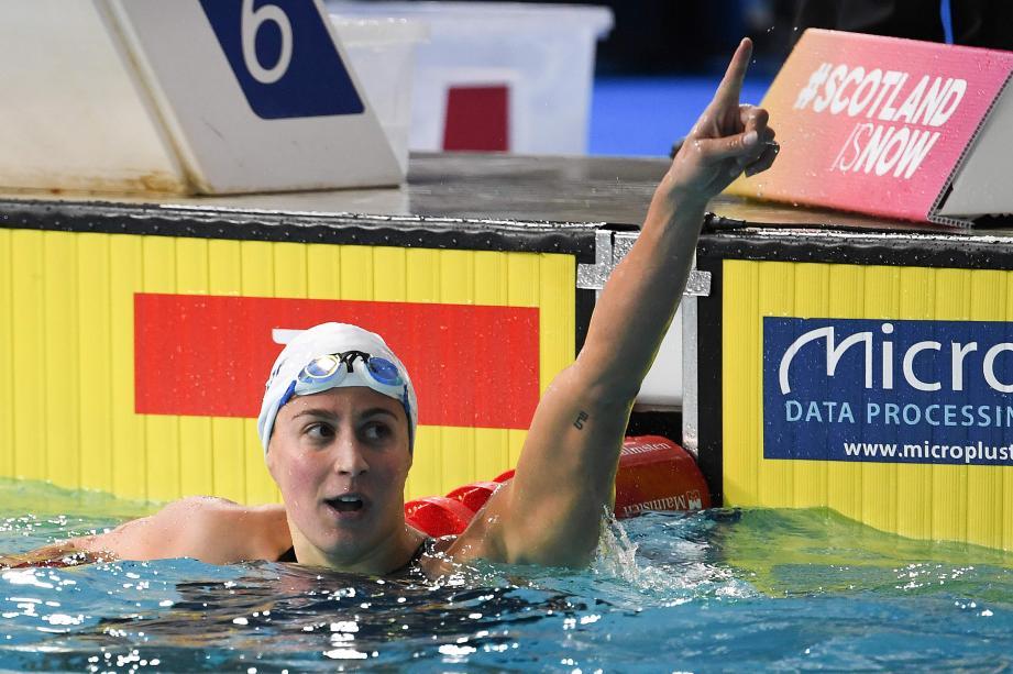 Mondiaux-2019 de natation : Charlotte Bonnet en demi-finales du 200 m !