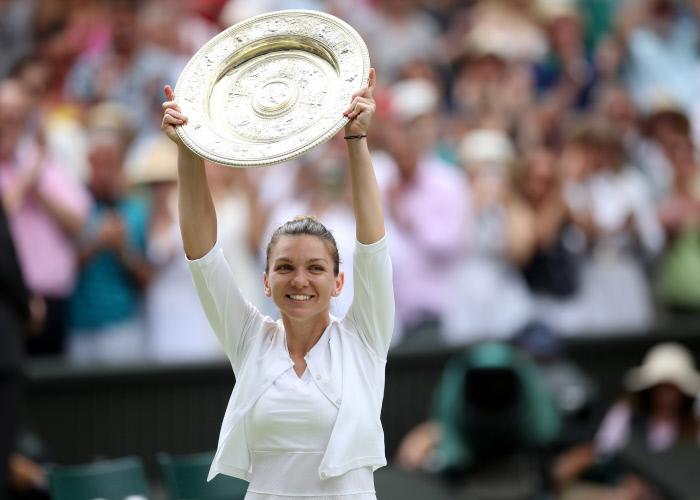 Wimbledon : Simona Halep remporte son premier titre à Londres