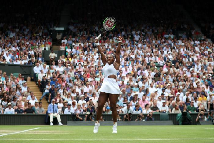 Wimbledon : Serena Williams en finale pour un 24e titre en Grand Chelem