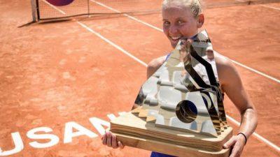 WTA Lausanne : premier trophée pour Fiona Ferro