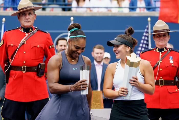 WTA Masters 1000 Toronto : Andreescu terrasse Serena Williams sur un abandon