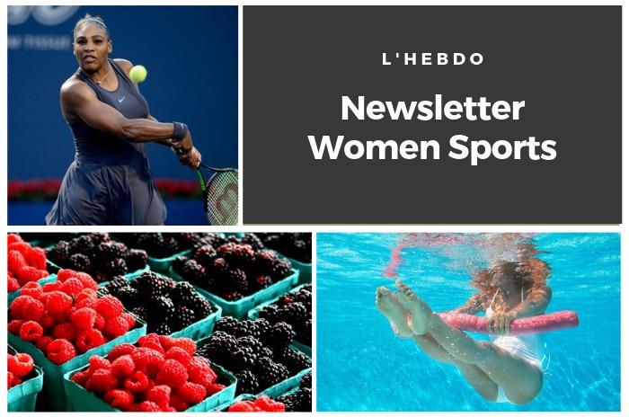 La newsletter WOMEN SPORTS du mardi 27 août 2019