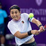 La N.1 Française Caroline Garcia (27e) s'est inclinée au premier tour de l'US Open lundi, battue deux sets à zéro par la Tunisienne Ons Jabeur (7-6, 6-2).