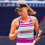 Kristina Mladenovic a été éliminée au deuxième tour de l'US Open mercredi, à New York, par sa jeune compatriote Fiona Ferro, 22 ans (6-4, 6-7 [3], 6-3).