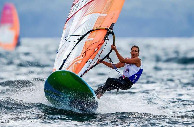 Test-event Tokyo-2020 : Charline Picon s'empare de la seconde place