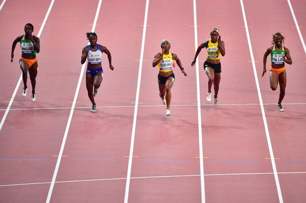 [Mondiaux-2019 d'athlétisme] Fraser-Pryce reste la reine du 100 m