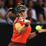 La Canadienne de 19 ans, 15e mondiale, s'est qualifiée pour sa première demi-finale de Grand Chelem ce mercredi, en battant la Belge Elise Mertens.