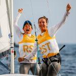 Le duo de véliplanchistes françaises Camille Lecointre et Aloïse Retornaz (voile 470) ont gagné leur ticket pour les prochains JO de Tokyo-2020.