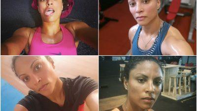 La story d'Émilie Sonvico : ses meilleurs selfies post-training