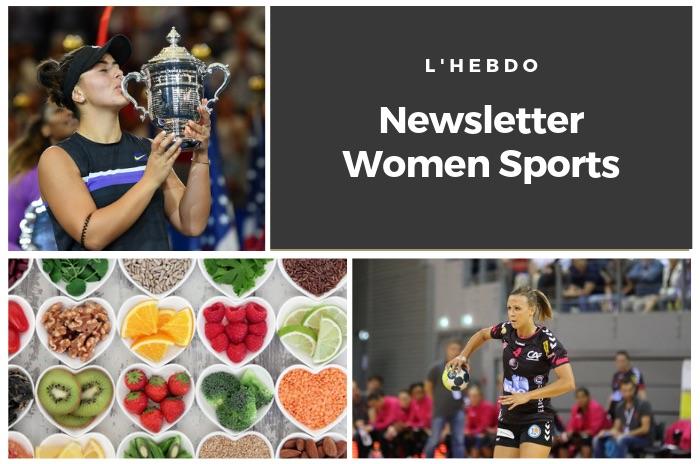 La newsletter WOMEN SPORTS du mardi 10 septembre 2019