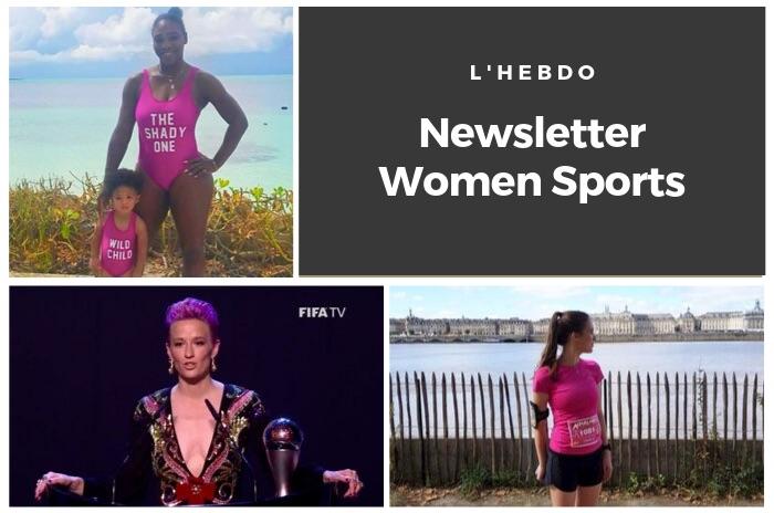 La newsletter WOMEN SPORTS du mardi 24 septembre 2019