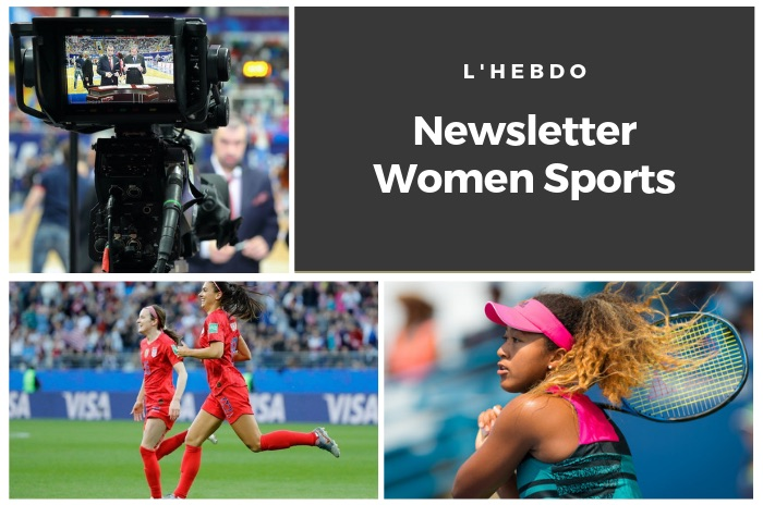La newsletter WOMEN SPORTS du mardi 3 septembre 2019