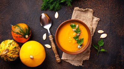 Mercredi food spécial automne – Optez pour la soupe de potiron et noisettes