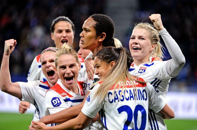 UEFA Women's Champions League : Lyon en huitièmes de finale