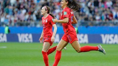 Carnet rose : la star du football féminin, Alex Morgan, est enceinte !