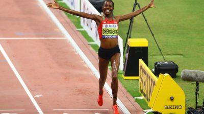 [Mondiaux-2019 d'athlétisme] Chepkoech, nouvelle championne sur 3000 m steeple