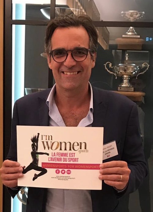 Damien Rajot est We Men Sports for Women Sports