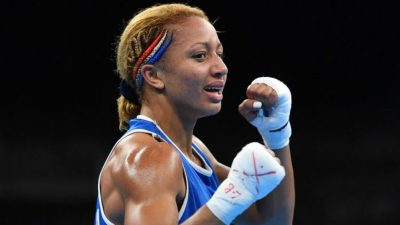 Boxe : Estelle Yoka-Mossely conserve sa ceinture mondiale IBO