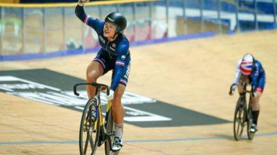 Coupe du monde de cyclisme – Mathilde Gros remporte l'argent sur l'épreuve du keirin !