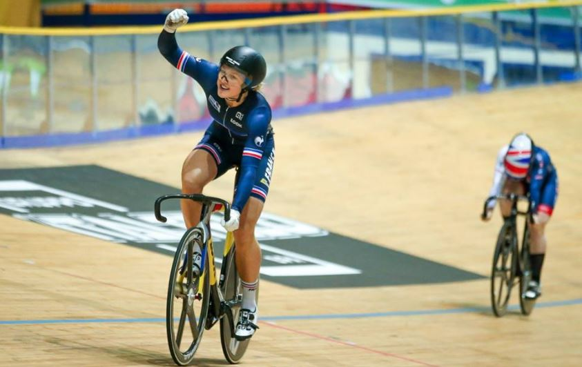 La récap du week-end : Mathilde Gros en or sur le keirin
