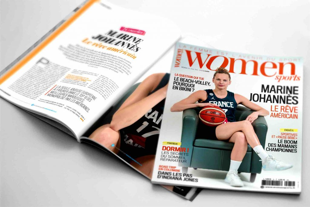 Le magazine WOMEN SPORTS N.14 est sorti !