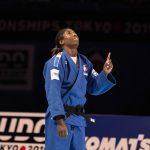 Le 29 août dernier Marie-Eve Gahié a remporté son premier titre de championne du monde de judo (-70kg) à Tokyo. Retour sur 5 dates-clés de sa jeune carrière
