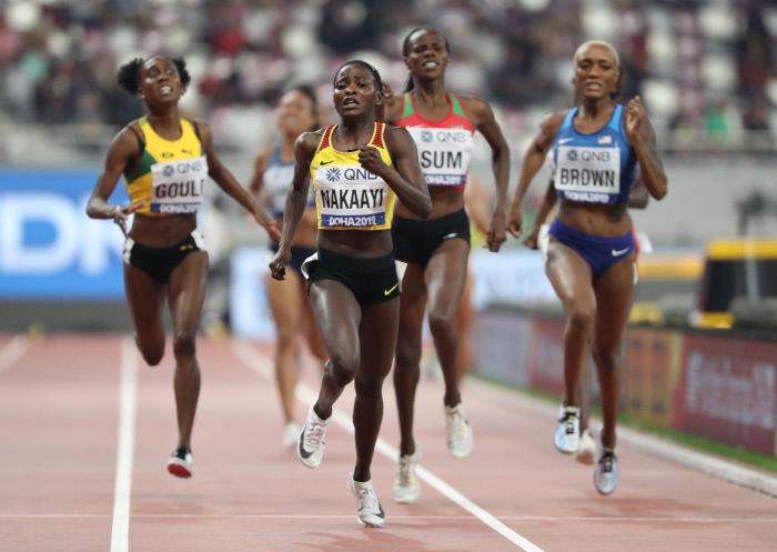 [Mondiaux-2019 d'athlétisme] Semenya absente, le titre revient à Nakaayi sur 800 m