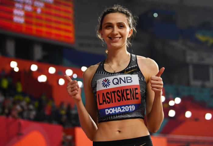 [Mondiaux-2019 d'athlétisme] Troisième couronne consécutive pour Lasitskene à la hauteur